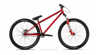 Dartmoor Quinnie 26 Dirt/Street bike red devil
