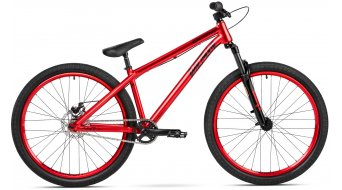 Dartmoor Gamer26 Basic 26 Dirt/Street bici completa rojo devil