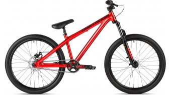 "Dartmoor Gamer24 Intro 24"" Dirt/Street bici completa red mod. 2018"