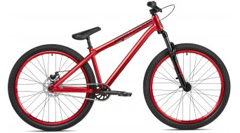 "Dartmoor Gamer26 Intro 26"" Dirt/Street Komplettbike red Mod. 2018"