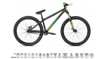 "Dartmoor Gamer 26"" Dirt bike unisize 2019"