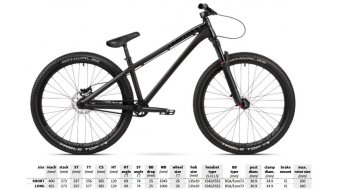 "Dartmoor Two6Player Pro 26"" DJ/Park bike 2019"