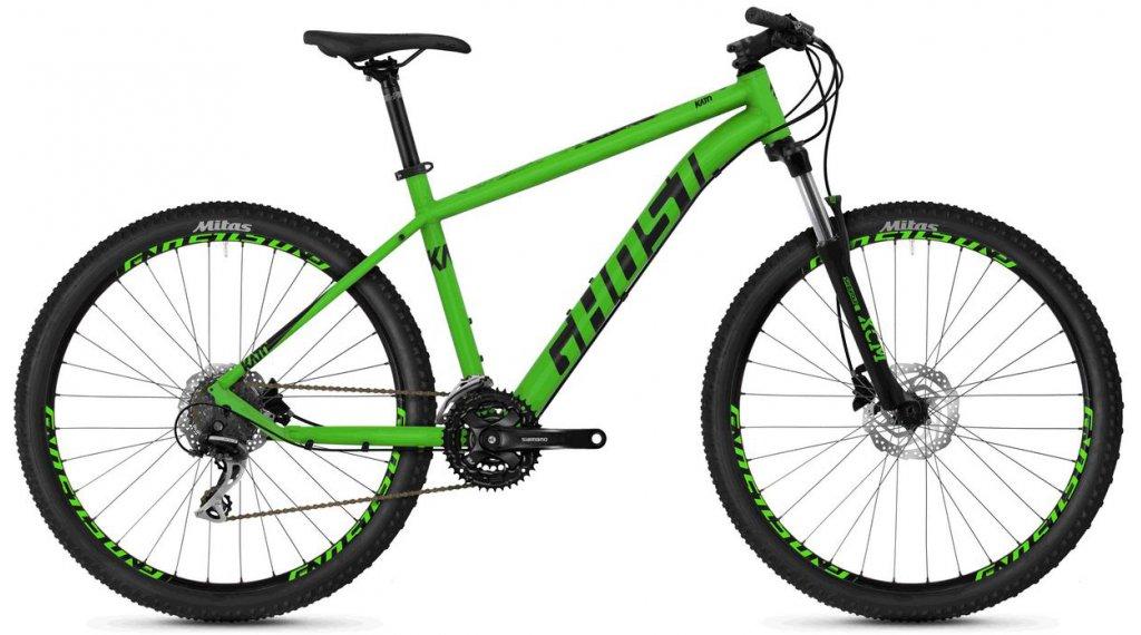"""Ghost Kato 3.7 AL U 27.5"""" MTB Komplettrad Gr. S riot green/night black Mod. 2020"""