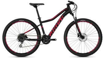 "Ghost Lanao 3.7 AL W 27.5"" MTB fiets dames jet black/ruby pink model 2020"
