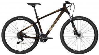 Ghost Kato Universal 29 MTB bici completa tamaño L marrón/azul Mod. 2021- MODELO DE DEMONSTRACIÓN- deterioro en la pintura AM tubo de asiento