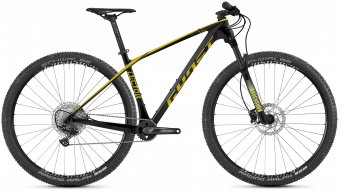 Ghost Lector Base 29 MTB bike size XS jet black/kiwi 2021