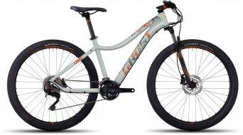 Ghost Lanao 5 AL 650B/27.5 MTB fiets damesfiets maat XS cloud white/titanium gray/monarch orange model 2017