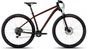 Ghost Kato 7 AL 29 MTB fiets marsala red/cranberry red/jade blue model 2017