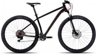 Ghost Kato 9 AL 29 MTB bici completa . black/black/neon red mod. 2017