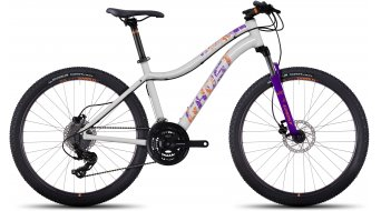 Ghost Lanao 1 AL 26 MTB bike ladies version size S star white/violet/tangerine orange 2017