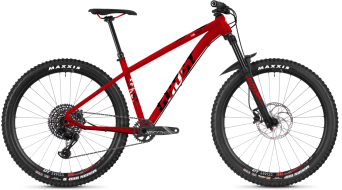 "Ghost Asket 8.7 AL U 27.5"" MTB Komplettrad Gr. M riot red/night black/star white Mod. 2019"