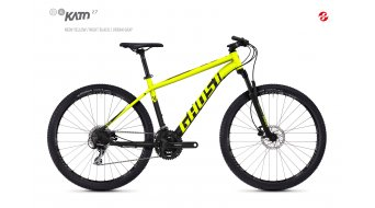 "Ghost Kato 2.7 AL U 27.5"" MTB Komplettrad Gr. L neon yellow/night black Mod. 2018"