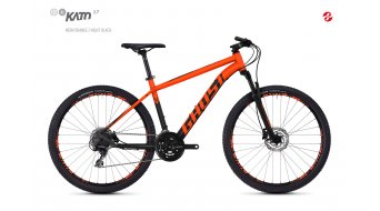 "Ghost Kato 3.7 AL en 27.5"" MTB fiets black model 2018"