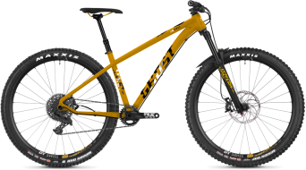 "Ghost Asket 4.9 AL U 29"" MTB komplett kerékpár spectra yellow/star white/night black 2019 Modell"