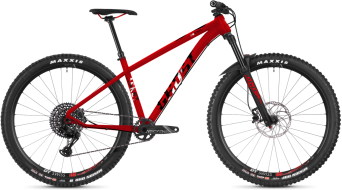 "Ghost Asket 8.9 AL and 29"" MTB bike riot red/night black/star white 2019"