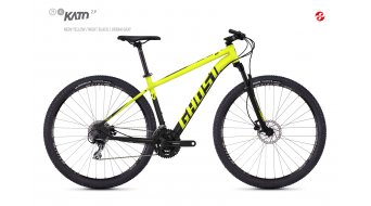 "Ghost Kato 2.9 AL U 29"" MTB komplett kerékpár neon yellow/night black 2018 Modell"