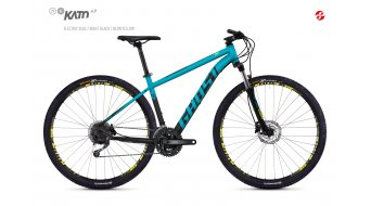 "Ghost Kato 4.9 AL and 29"" MTB bike size L electric blue/night black 2018"