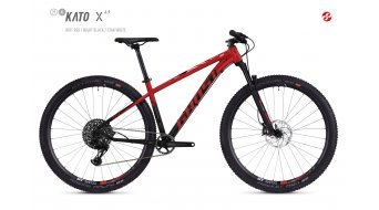"Ghost Kato X6.9 AL and 29"" MTB bike riot red/night black/star white 2019"