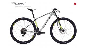 "Ghost Lector 8.9 LC U 29"" MTB Komplettrad smoke gray/night black/neon yellow Mod. 2019"