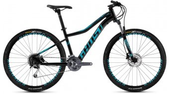 "Ghost Lanao 5.7 AL W 27.5"" MTB komplett kerékpár női night black/electric blue 2019 Modell"