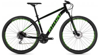 "Ghost Kato 2.9 AL U 29"" MTB Komplettrad night black/riot green Mod. 2019"