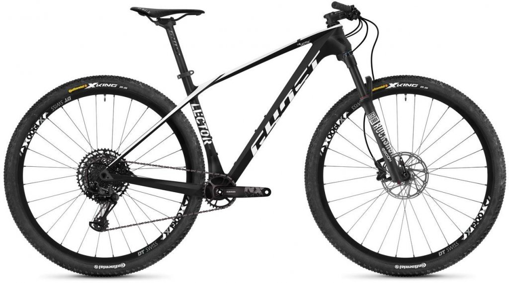 "Ghost Lector 3.9 LC и 29"" Планински велосипед, размер XS night черно/star бяла модел 2019"