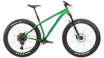 "KONA WoZo 27,5"" Fat bike green model 2020"