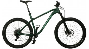 KONA Big Honzo DL 650B Plus bike green 2017- TESTBIKE