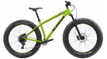 KONA WoZo 26 Fat bike bike size S matt green 2017