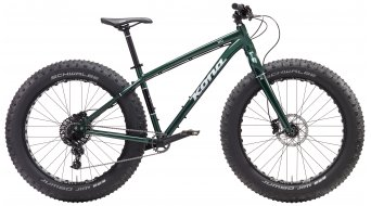 KONA Wo 26 Fat bike bici completa . gloss green mod. 2017