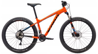 "Kona Big Kahuna 27,5"" Komplettrad gloss hot orange & black/black & blue decals Mod. 2018"