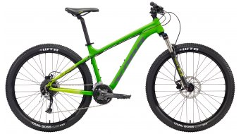 "KONA Fire Mountain 26"" bike XS matt & lime decals 2018"