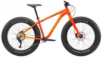 "KONA Wo 26"" Fat bike size XL gloss hot orange & orange/orange decals 2018"