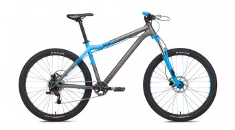NS Bikes Clash bike size L dark raw/blue 2017