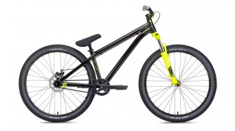 NS Bikes Zircus bike unisize black/yellow 2017