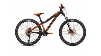 "NS Bikes Clash Junior 24"" Komplettrad Kinder Gr. unisize black/orange Mod. 2019"