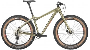 Salsa Mukluk Aluminium Deore 26 Fat bike green model