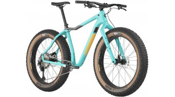 Salsa Mukluk carbon XT 26 Fat bike bike size S teal 2021