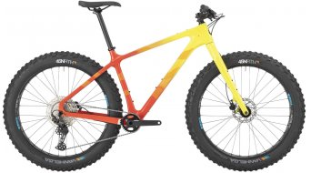 Salsa Beargrease Carbon Deore 27.5 Fatbike Komplettrad Gr. XL orange/yellow fade Mod. 2021