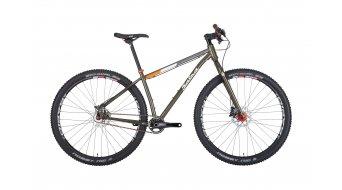 Salsa El Mariachi Singlespeed 29 MTB bici completa mis. XS gray/green mod. 2015