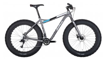 Salsa Blackborow 1 26 Fatbike Komplettrad metallic grey