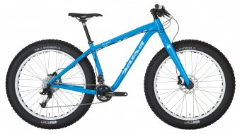 Salsa Beargrease 2 26 Fat bike bike size XL bomb pop blue 2015