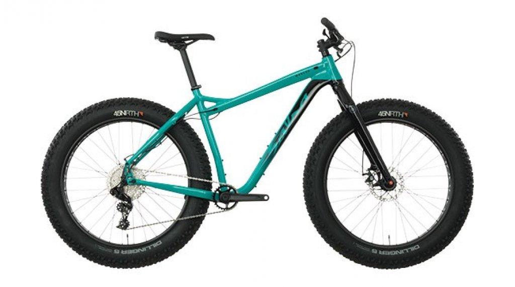 Salsa Mukluk NX1 26 Fatbike Komplettrad Gr. XL blue teal Mod. 2019