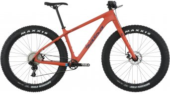 "Salsa Beargrease carbon NX1 27.5"" Fat bike bike size XL orange 2018"