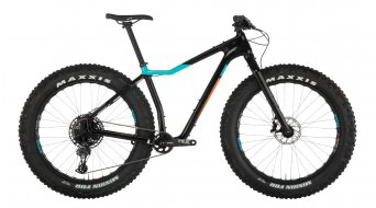 "Salsa Mukluk carbone NX Eagle 26"" Fatbike vélo taille raw carbone/teal/orange Mod. 2019"