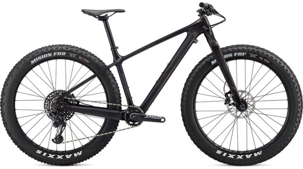 "Specialized Fatboy Comp 27.5"" Fatbike 整车 型号 M carbon/gunmetal 款型 2020"