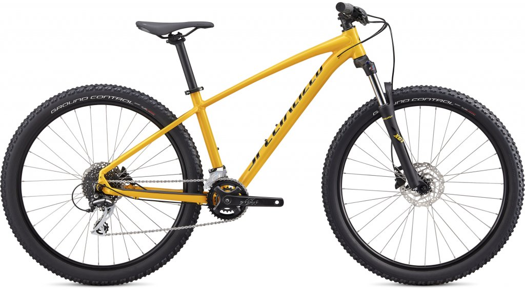 "Specialized Pitch Sport 27.5"" MTB Komplettrad Gr. S gloss golden yellow/black Mod. 2020"