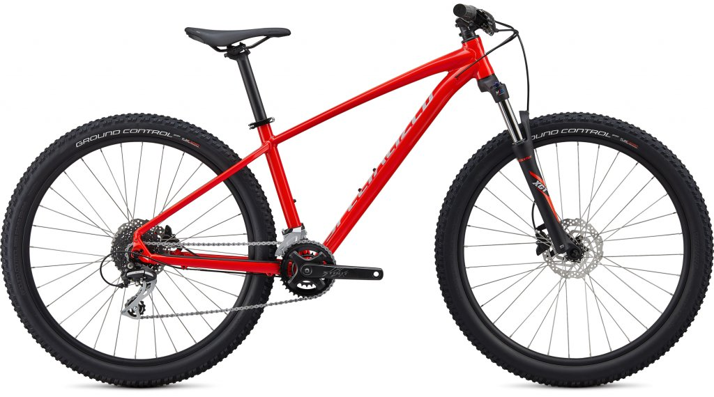 "Specialized Pitch Sport 27.5"" MTB Komplettrad Gr. M gloss rocket red/dove grey Mod. 2020"