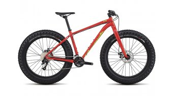 Specialized Fatboy SE 26 Fatbike Komplettbike nordic red/hyper green Mod. 2017