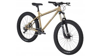 Surly Instigator 2.0 26+ MTB Komplettrad trans am gold